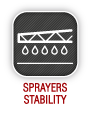 Sprayers stability